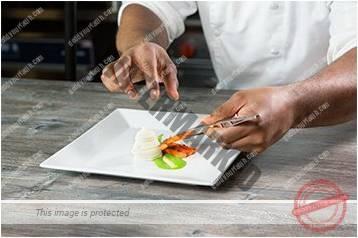 Cara menyajikan masakan gaya landscape 4