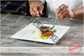 Cara menyajikan masakan gaya landscape 6