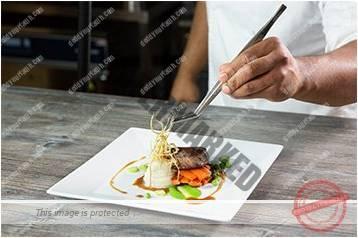 Cara menyajikan masakan gaya landscape 8