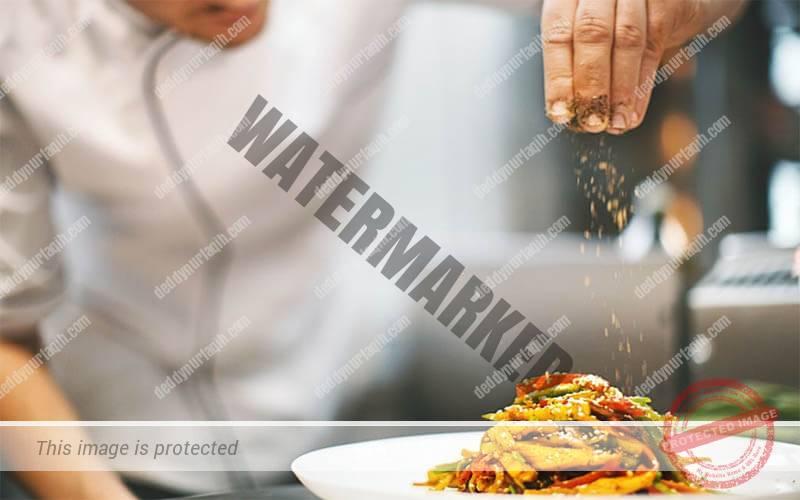 cara plating makanan 4