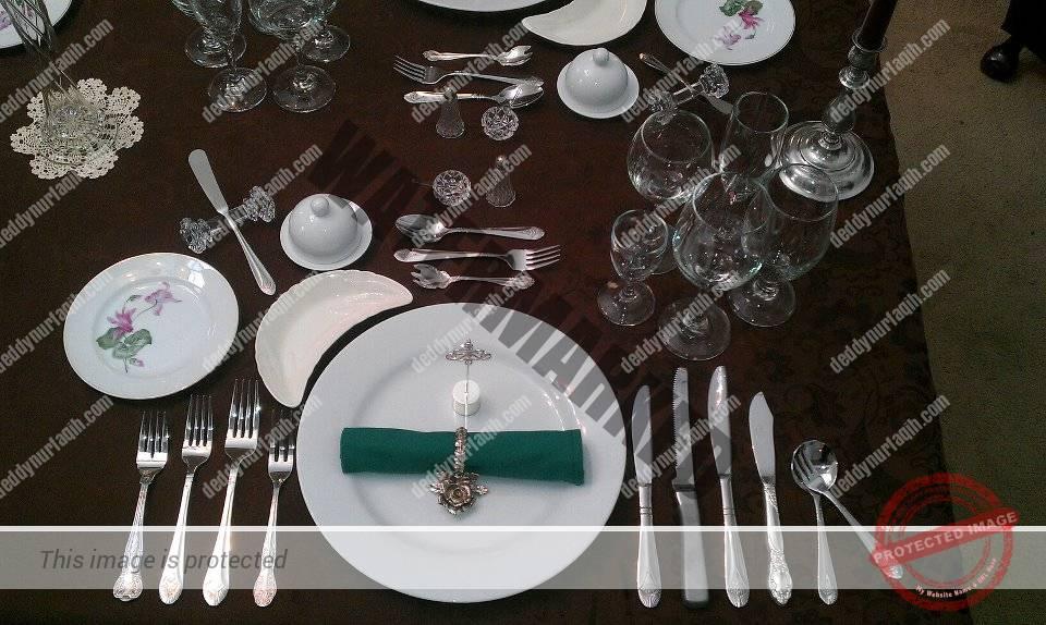 daftar peralatan rumah makan