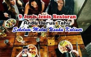 Jenis-Jenis Restoran Feature