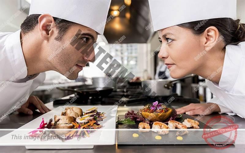 Persaingan antar dua chef