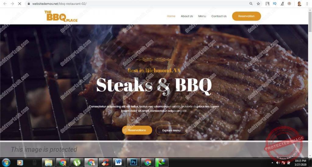 Tips Cara Membuat Web Rumah Makan BBQ