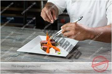 Cara menyajikan masakan gaya bebas 5