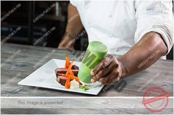 Cara menyajikan masakan gaya bebas 6