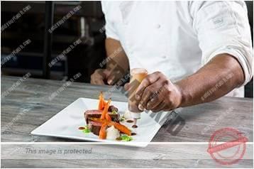 Cara menyajikan masakan gaya bebas 7