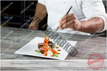 Cara menyajikan masakan gaya bebas 8