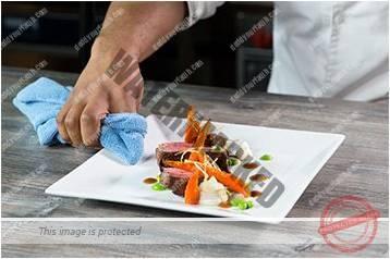 Cara menyajikan masakan gaya bebas 9