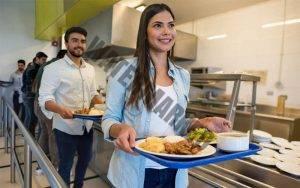 Konsep rumah makan prasmanan - buffet