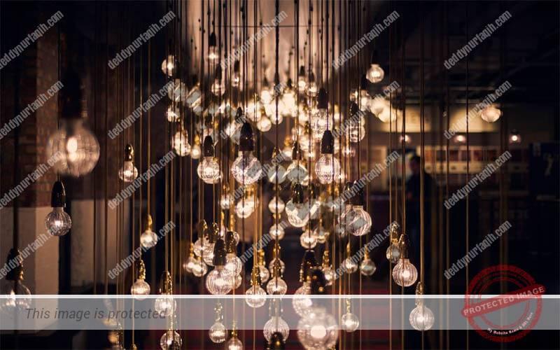 Lampu gantung Pencahayaan Café dan Restoran