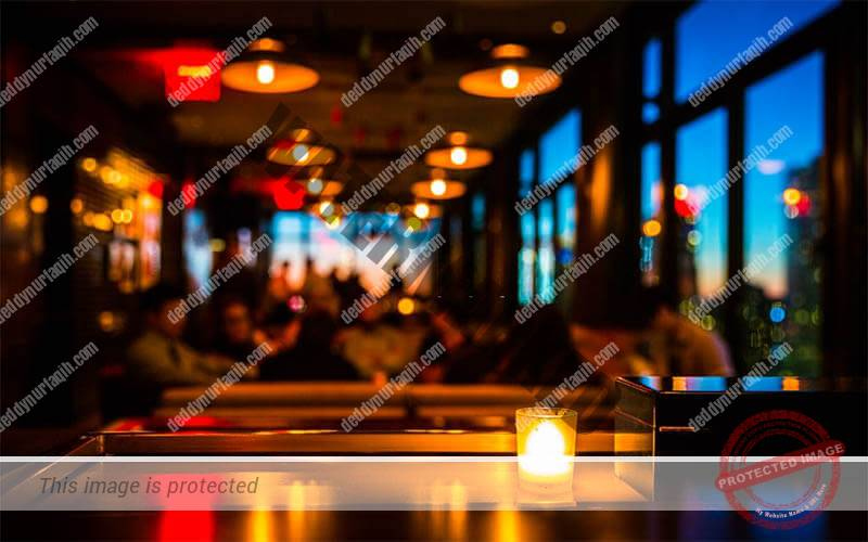 Pencahayaan Café dan Restoran