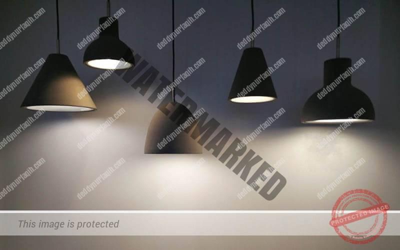 lampu pendant Pencahayaan Café dan Restoran