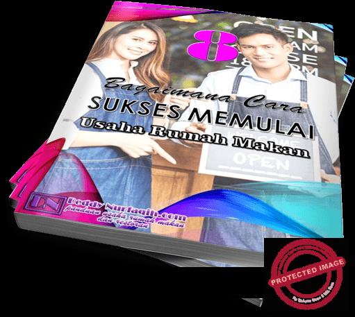 Ebook 8 Bagaimana Cara Memeulai Usaha Rumah Makan mock up cover