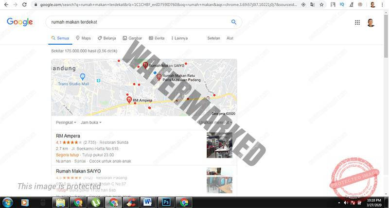 Tips Cara Membuat Web Rumah Makan Google Map
